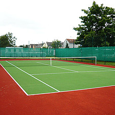 Tennis court Mainz-Kastel