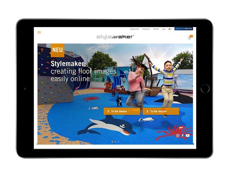 Stylemaker also available as app